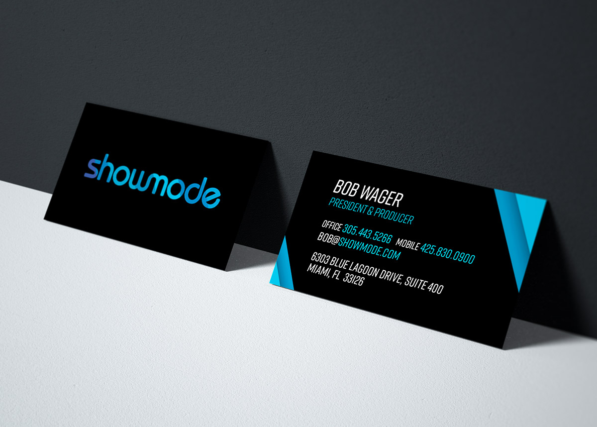 Showmode Business Cards