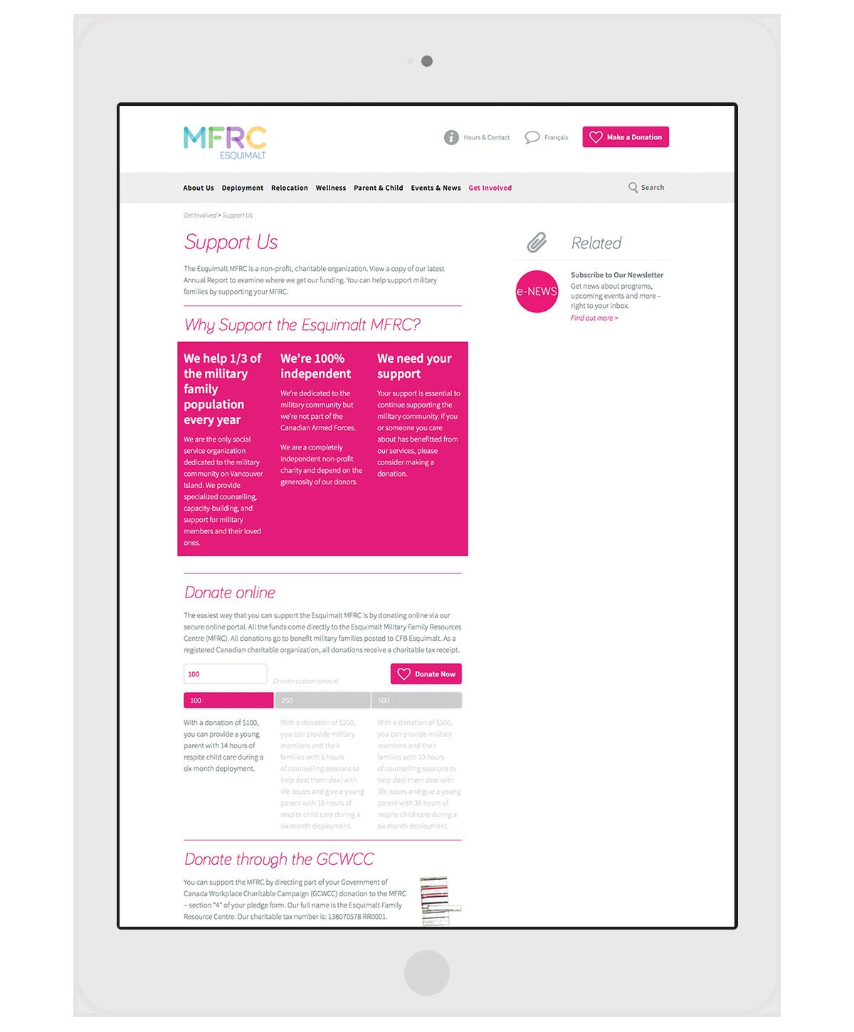 MFRC-iPad
